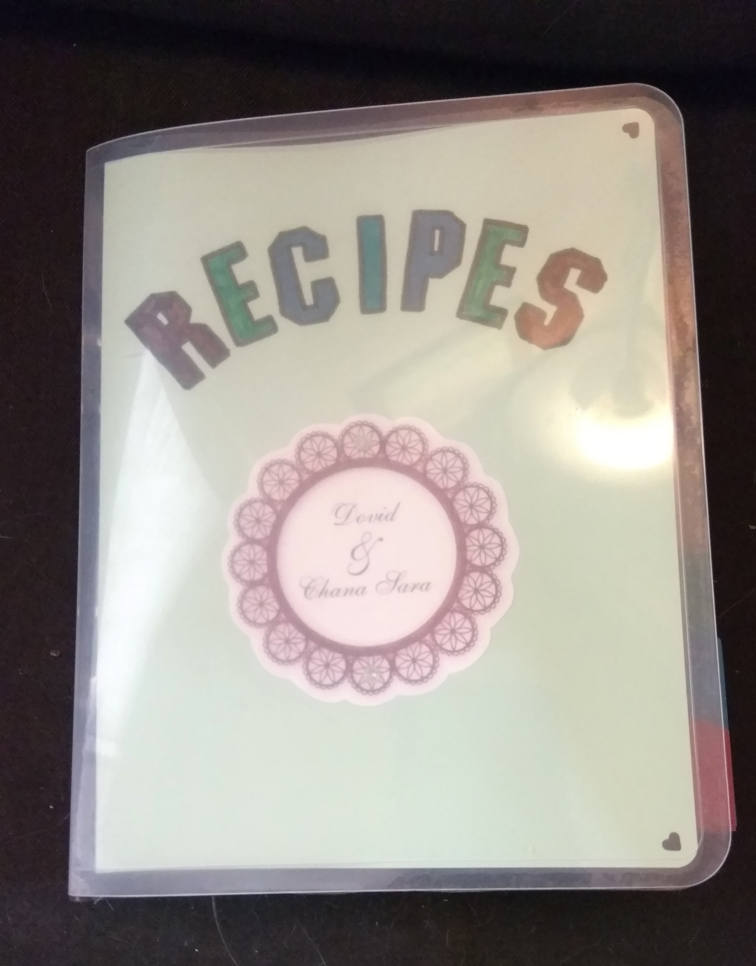 handmade, scrapbook, recipe book
